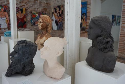 exposition-4-bustes-galerie-de-l-echarpe-a-toulouse