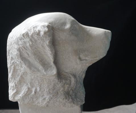 Sculpture en pierre - Zorba - Lartigue 1