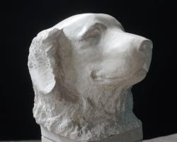 Sculpture en pierre - Zorba - Lartigue 2