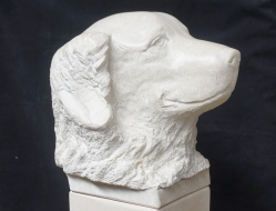 Sculpture en pierre - Zorba - Lartigue 3