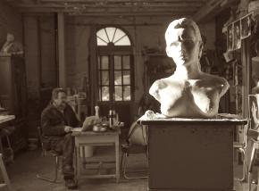 lartigue-atelier-buste-de-rr-photo-par-juliette-marne