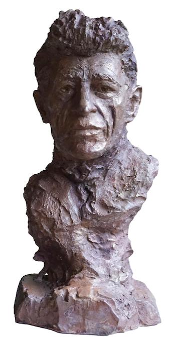 buste-de-giacometti-en-bronze-par-lartigue