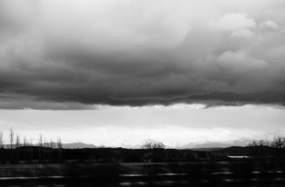 photo nuage chargé et vide- Lartigue