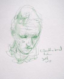 Dessins au musée Rodin par Lartigue 3
