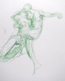 Dessins au musée Rodin par Lartigue 4