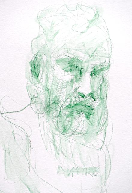 Dessins au musée Rodin par Lartigue 5