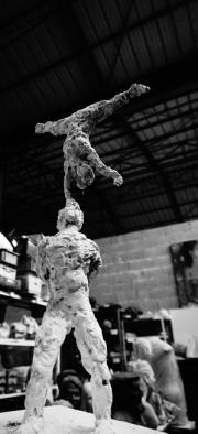 Sculpture cirue Aïtal inondation 4