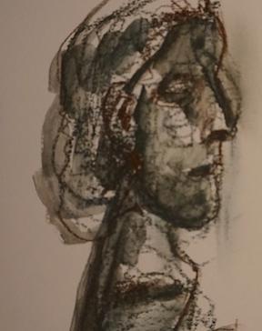 Dessin à partir sculpture picasso