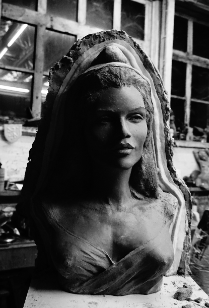 Marianne moule élastomère