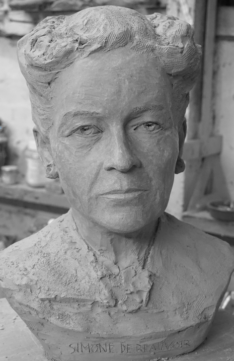 Simone de Beauvoir - Lartigue