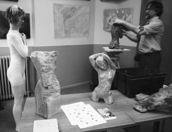 exposition des Amis artistes de l'Oncopole 2