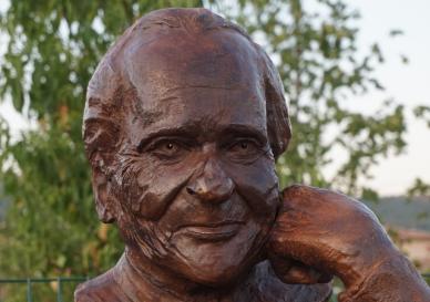 Monument Jean d'Ormesson - buste - Lartigue 22