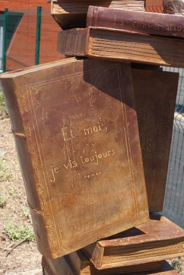 Monument Jean d'Ormesson - buste - Lartigue 3